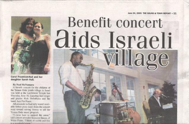 Rick Dellaratta And Jazz For Peace Instrument Donation Program